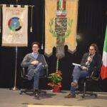 Durante la serata di premiazione del Gran Galà dello sport Andrea Vidotti intervista Bernardo Bernardini che è stato scelto come atleta rappresentativo per il Fair Play grazie al suo esempio come sportivo